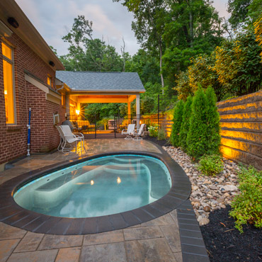 Photo Gallery -Anderson Back Yard Retreat